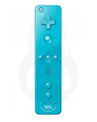 Nintendo Wii / Wii U Remote Plus, moder - PVC embalaža (kompatibilni)