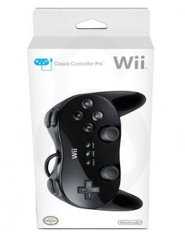 Nintendo Wii / Wii U Classic Controller Pro, črn (kompatibilni)