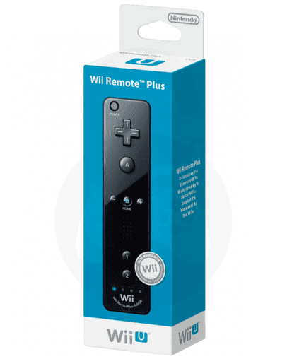 Nintendo Wii / Wii U Remote Plus, črn - Rabljeno