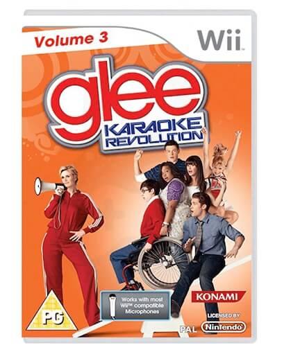 Karaoke Revolution Glee Volume 3 (Wii)
