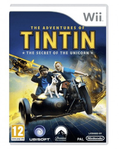The Adventures of Tintin The Secret of the Unicorn (Wii) - Rabljeno
