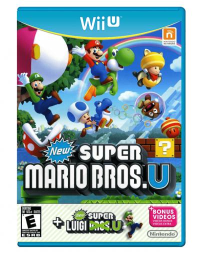 New Super Mario Bros U + New Super Luigi U (Bonus Video) (Wii U) - Rabljeno