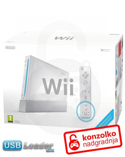 Rabljeno - Nintendo Wii + softmod PRO v5 + USB Loader GX + Garancija