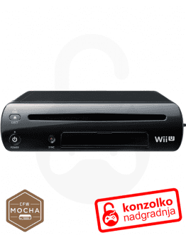 Wii U softmod Mocha CFW + Haxchi + Navodila + 1 leto BREZPLAČNE posodobitve