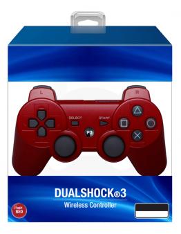 PS3 DualShock 3 brezžični kontroler rdeč (kompatibilen)