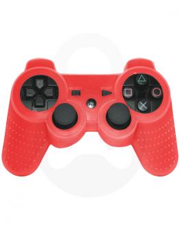 PlayStation 3 (PS3) DualShock 3 silikonska prevleka, rdeča