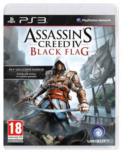 Assassins Creed 4 Black Flag (PS3) - Rabljeno
