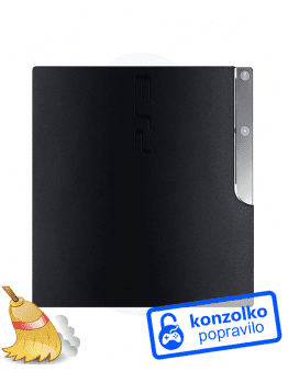 Playstation 3 (PS3) Slim Temeljito Čiščenje + Menjava Termalne Paste