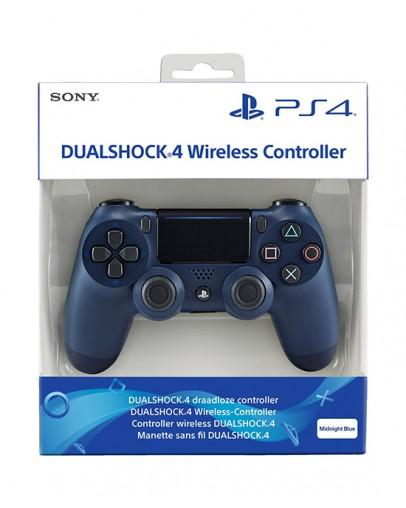 Playstation 4 (PS4) Slim DualShock 4 brezžični kontroler v2 (novi model), Midnight Blue