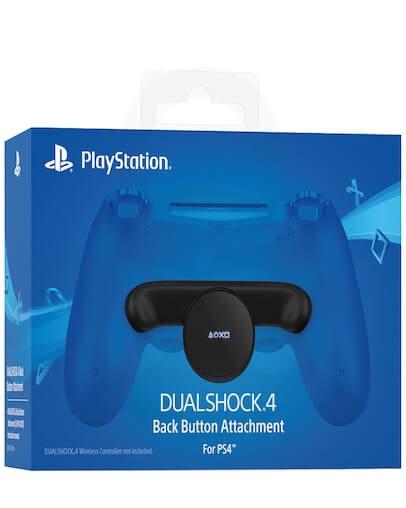 Playstation 4 (PS4) DualShock hrbtni gumb na nastavku