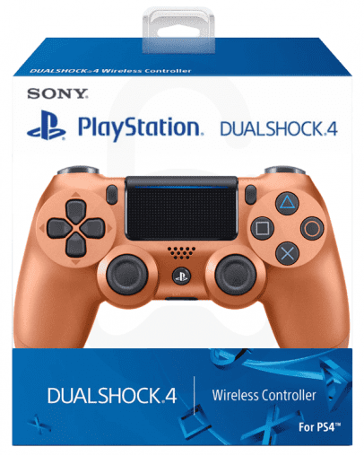 Playstation 4 (PS4) Slim DualShock 4 brezžični kontroler v2 (novi model), copper