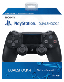 Playstation 4 (PS4) Slim DualShock 4 brezžični kontroler v2 (novi model), črn - PVC Embalaža