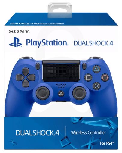 Playstation 4 (PS4) Slim DualShock 4 brezžični kontroler v2 (novi model), moder