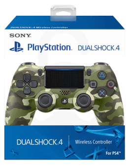 Playstation 4 (PS4) Slim DualShock 4 brezžični kontroler v2 (novi model), green camo