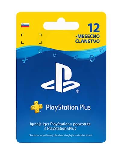 PlayStation Plus PSN+ 365 dni (SLO)