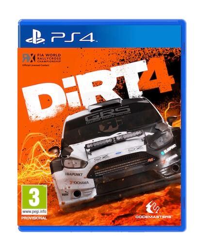 DiRT 4 (PS4) - Rabljeno