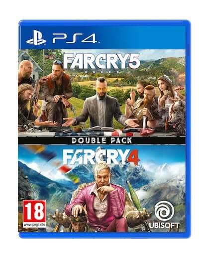 Far Cry 4 + Far Cry 5 Double Pack (PS4) - Rabljeno