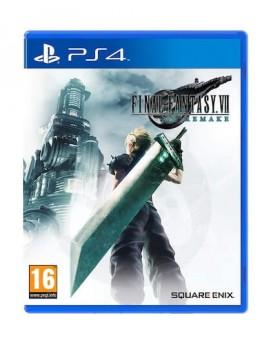 Final Fantasy VII Remake + darilo akrilno stojalo (PS4)