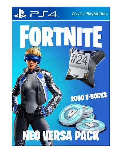 Fortnite Neo Versa + 2000 V-Bucks (PS4) - DLC