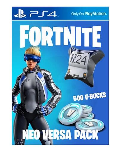Fortnite Neo Versa + 500 V-Bucks (PS4) - DLC