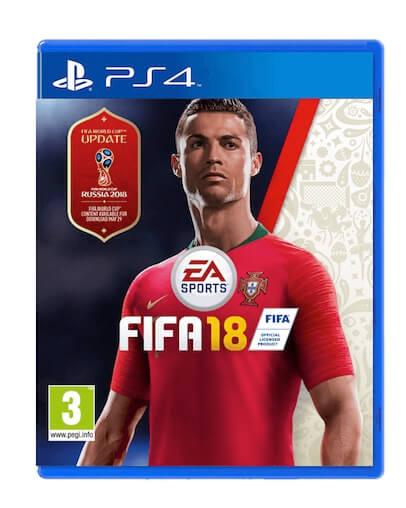 FIFA 18 + World Cup Russia (PS4) - Rabljeno