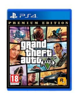 Grand Theft Auto 5 Premium Edition - GTA V (PS4)