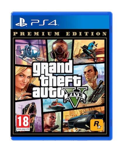 Grand Theft Auto 5 Premium Edition - GTA V (PS4)