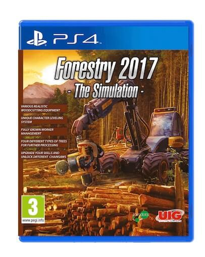 Forestry 2017 - The Simulation (PS4) - Rabljeno