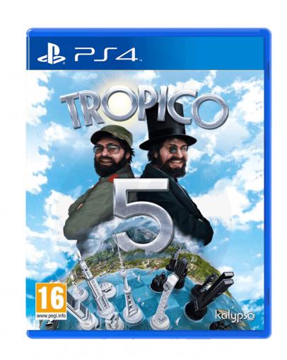 Tropico 5 (PS4) - Rabljeno
