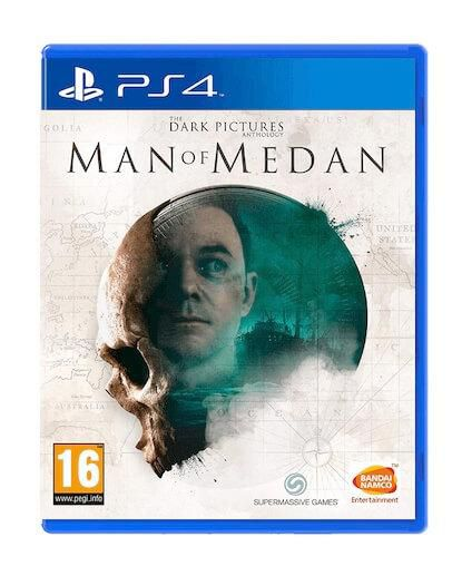 The Dark Pictures Anthology Man of Medan (PS4)