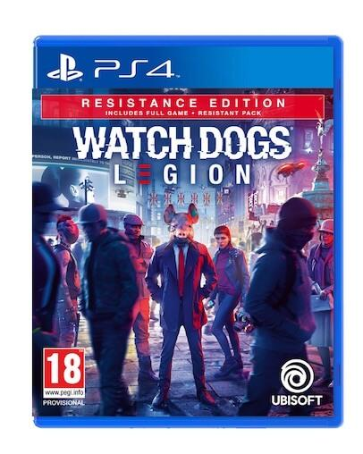 Watch Dogs Legion Resistance Edition (PS4) - Rabljeno
