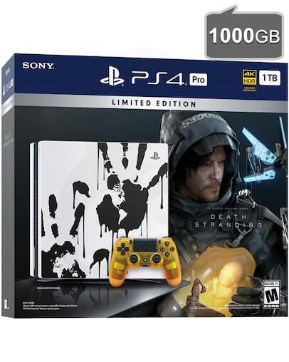 PlayStation 4 (PS4) PRO 1TB Death Stranding Limited Edition