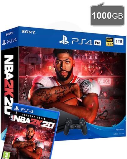 PlayStation 4 (PS4) PRO 1TB + NBA 2K20