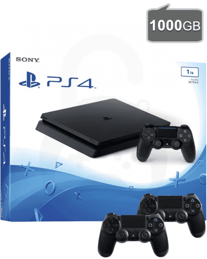 PlayStation 4 Slim 1000GB + Dodatni PS4 Kontroler (PS4)