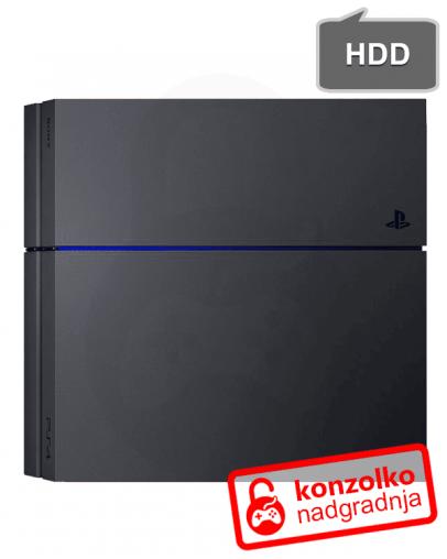 Playstation 4 (PS4) Nadgradnja Trdega Diska