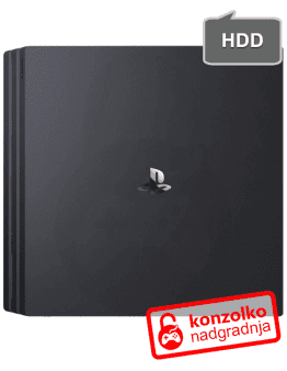 PlayStation 4 (PS4) PRO Nadgradnja Trdega Diska