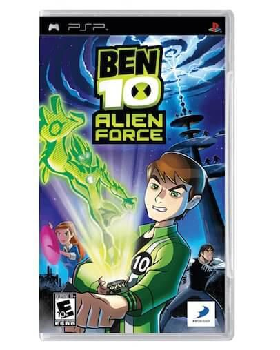 Ben 10 Alien Force (PSP) - Rabljeno