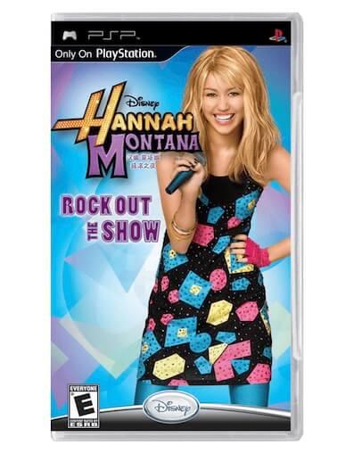 Hannah Montana Rock Out the Show (PSP)