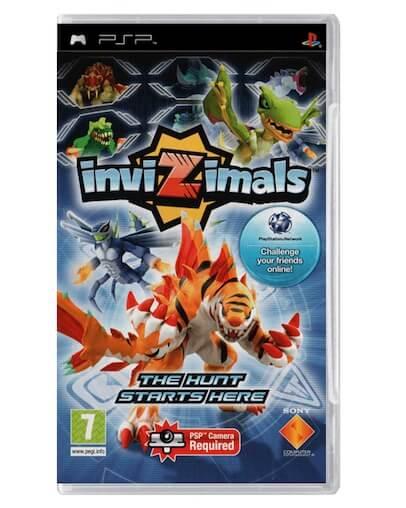 Invizimals (PSP) - Rabljeno
