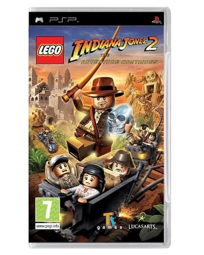 LEGO Indiana Jones 2 The Adventure Continues (PSP)