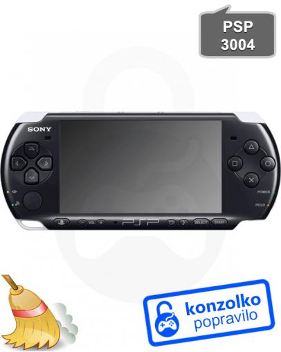 Sony PSP 3004 Temeljito Čiščenje
