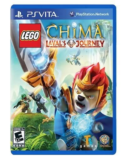 LEGO Legends of Chima Lavals Journey (PS VITA) - Rabljeno