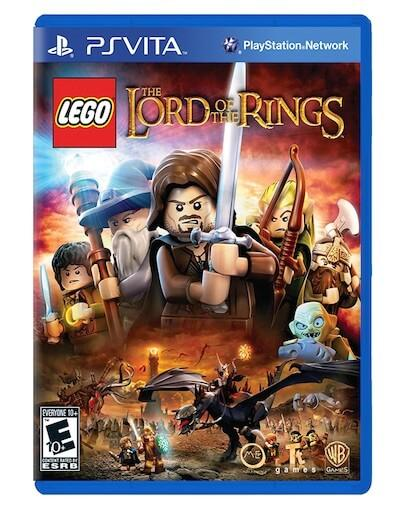 LEGO The Lord of the Rings (PS VITA) - Rabljeno