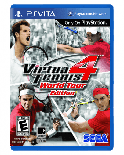Virtua Tennis 4 (PS VITA) - Rabljeno