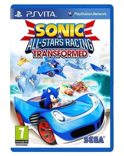 Sonic & All-Stars Racing Transformed (PS VITA) - Rabljeno