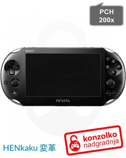 PS Vita Slim 3.73 h-encore Enso (PSVita igre) + Adrenaline v6.61 (PSP igre) + Navodila