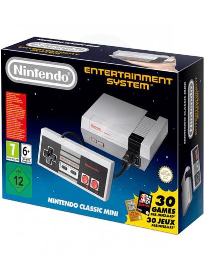 Nintendo Mini NES Classic Edition + 30 Prednaloženih iger