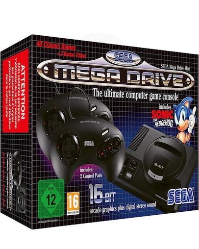 SEGA Mega Drive Mini + 40 Prednaloženih iger