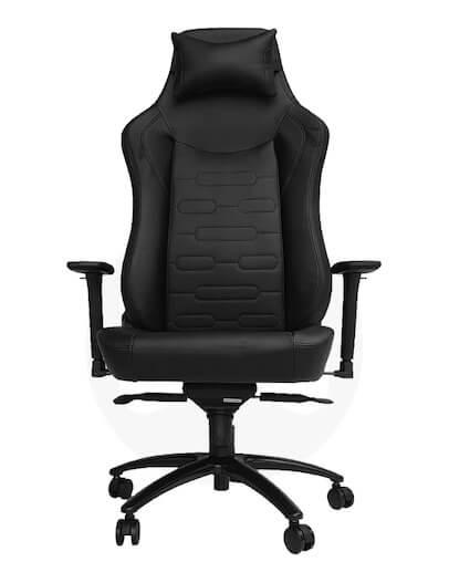 Gamerski Stol UVI Chair Elegant Business, črn