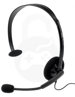 Xbox 360 Live slušalke z mikrofonom, črne